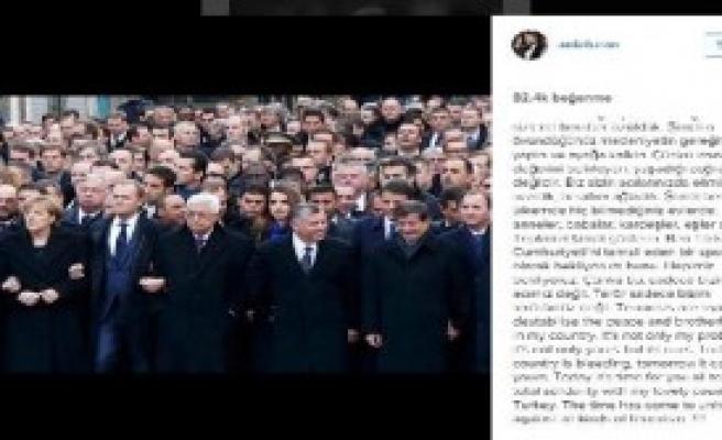 Arda'dan Dünya Liderlerine Mesaj