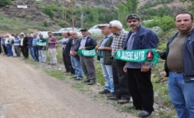 Artvin'de Maden Sahası Krizi