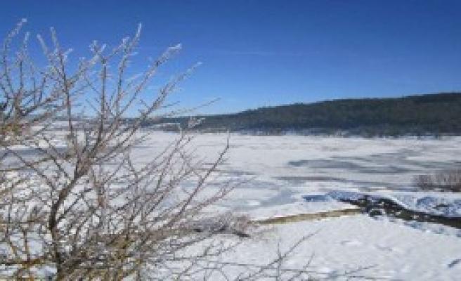 Aşırı Soğuk Gölleri Dondurdu