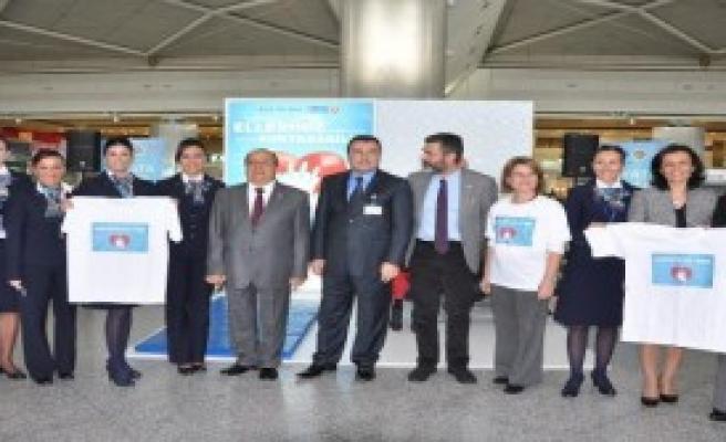 Atatürk Havalimanı'nda İlk Yardım Tatbikatı