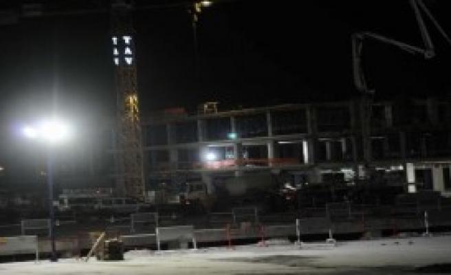 Atatürk Havalimanı'nda İş Kazas