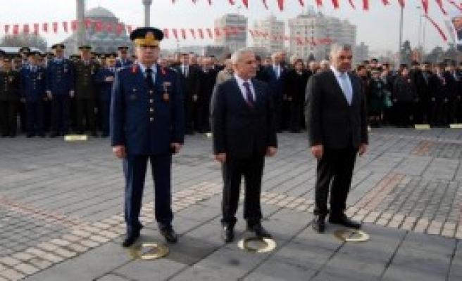 Atatürk'ün 98'inci Yıl Dönümü Kutlandı