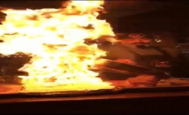 Yangın Sensörlerini Çalıştırdı