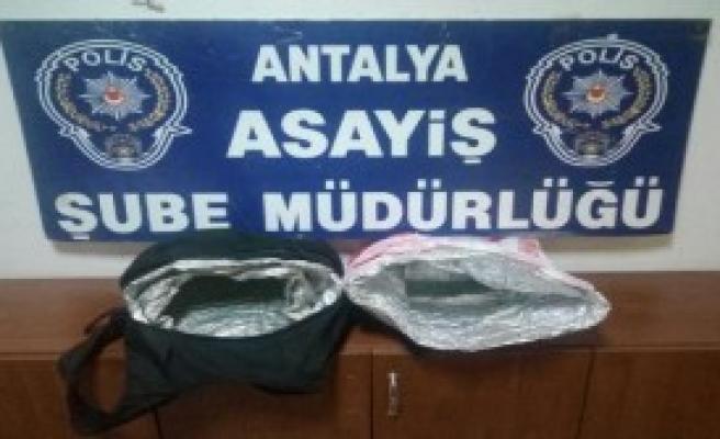 Hırsızlık Yapan Turist Tutuklandı
