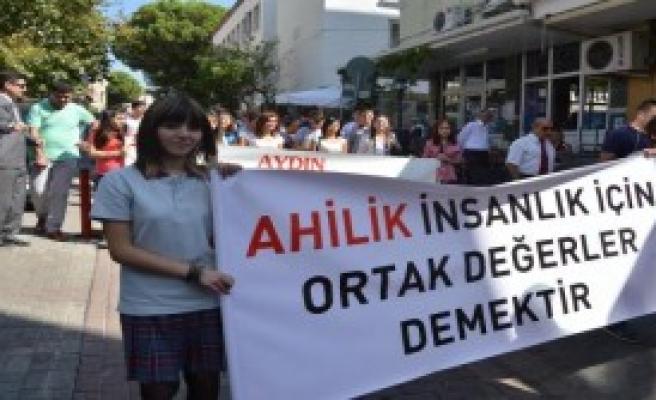 Aydın'da Ahilik Haftası Törenle Kutlandı