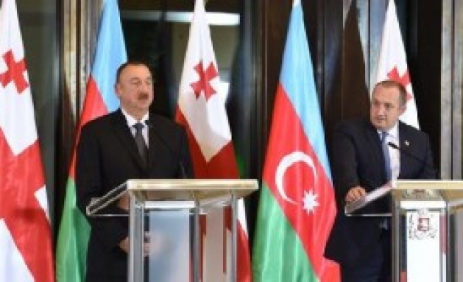 Aliyev Gürcistan'da