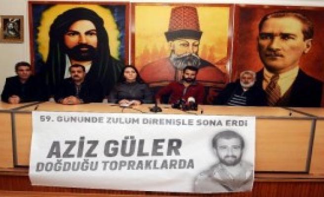 Aziz Güler'in Cenazesi Pazar Günü Toprağa Verilecek