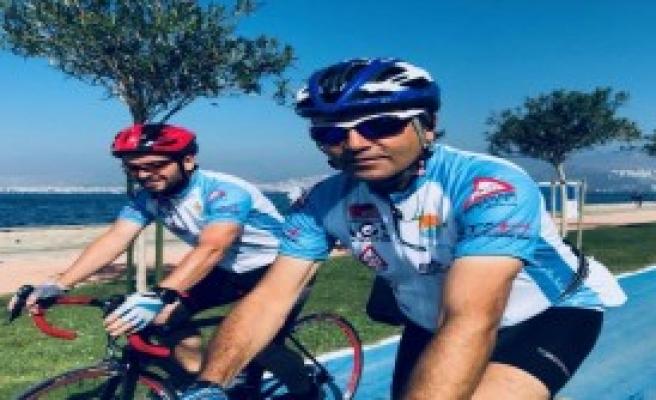 Bisikletli Gönüllüler Marmaris'te