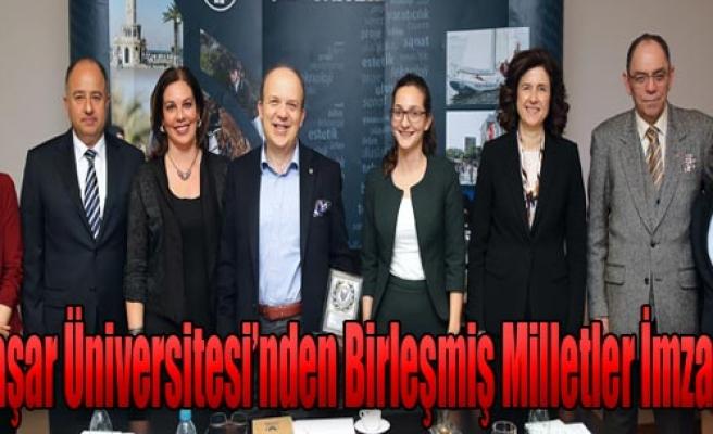 Üniversiteden İzmir'e Katkı Sağlayacak İmza