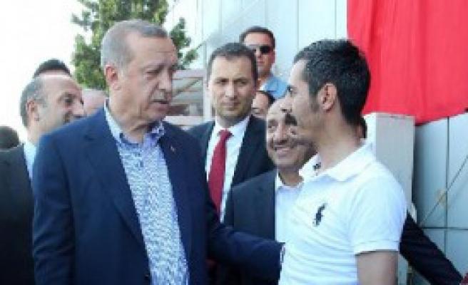 ErdoğanTaksicileri Ziyaret Etti