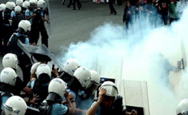 Ankara'da Polis Müdahale Etti