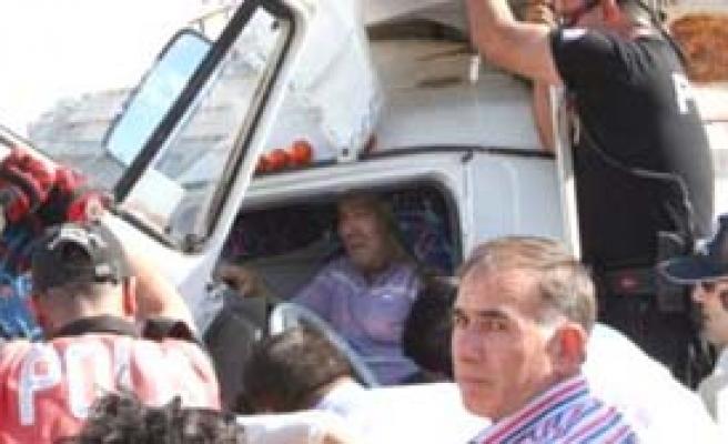 Erdemli'de Kaza: 1 Yaralı