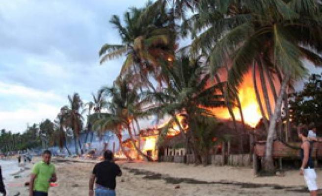 Survivor'da Yangın Paniği