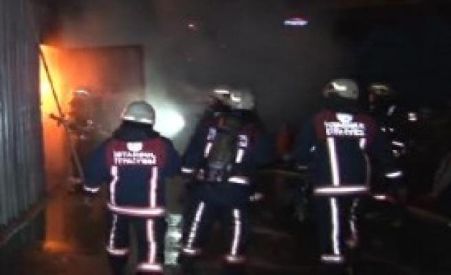 İplik Fabrikasının Deposunda Yangın
