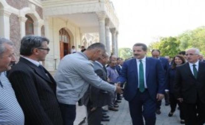 Bakan Çelik: Eskişehir'e Damızlık İstasyonu Kurulacak