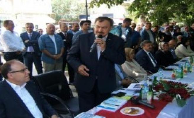 Bakan Eroğlu: Kim Denen Vatandaş Hidrojen Bombası Denemesi Yapıyor