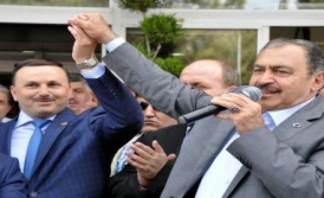 Bakan Eroğlu Soma'da