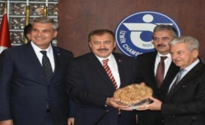 Bakan Eroğlu'dan İş Dünyası Ziyareti