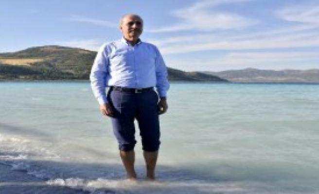 Bakan Kurtulmuş, Salda Gölü'nde