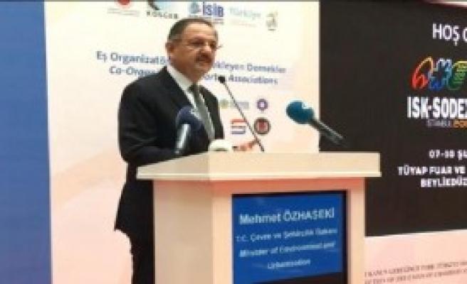 Bakan Özhaseki'den 'Asbest' Açıklaması