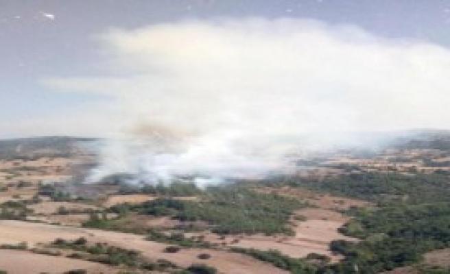 Balıkesir'de 3 Hektar Orman Yandı