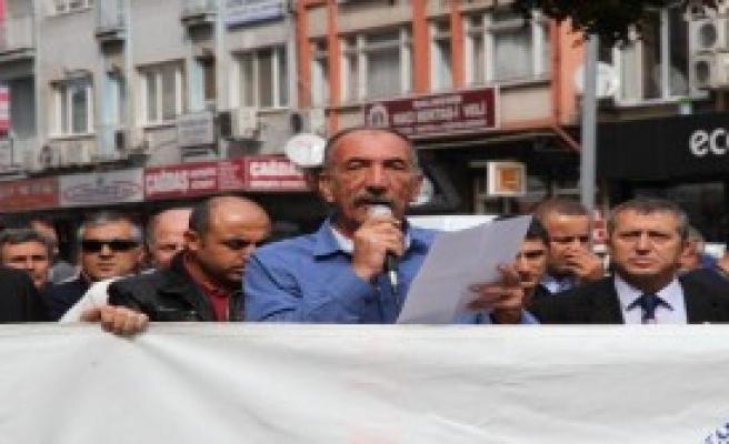 Öğretmenler Kobani İçin İş Bıraktı