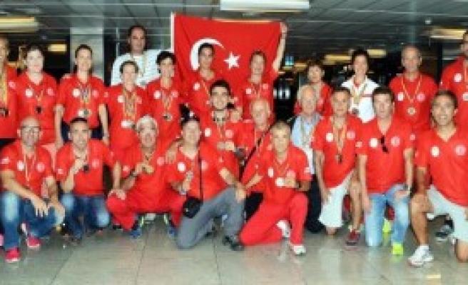 Balkan Veteran Şampiyonası'nda Türkiye 3'üncü