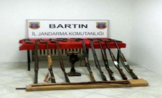 Bartın'da Silah Operasyonu