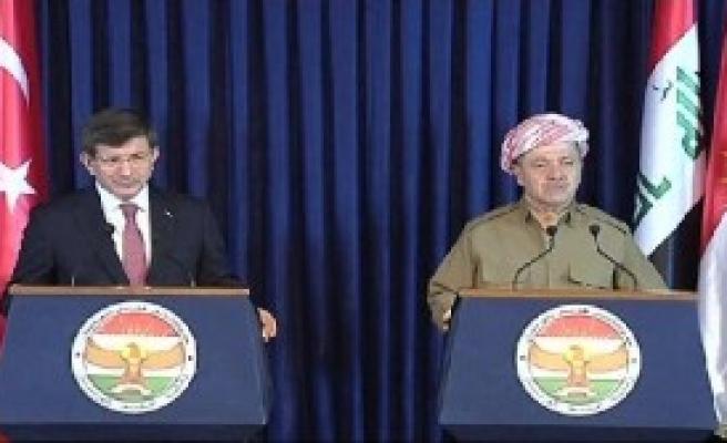 Davutoğlu, Barzani İle Görüştü