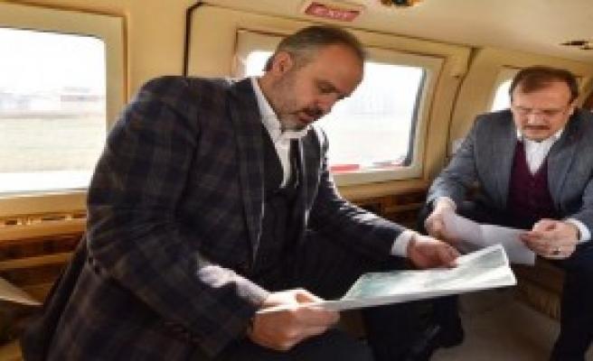 Bursa'yı Havadan İncelediler