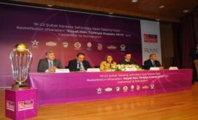 Basketbol Türkiye Kupası Gaziantep'te Düzenleniyor