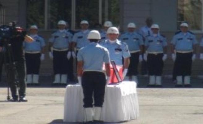 Şehit Komisere Uğurlama Töreni