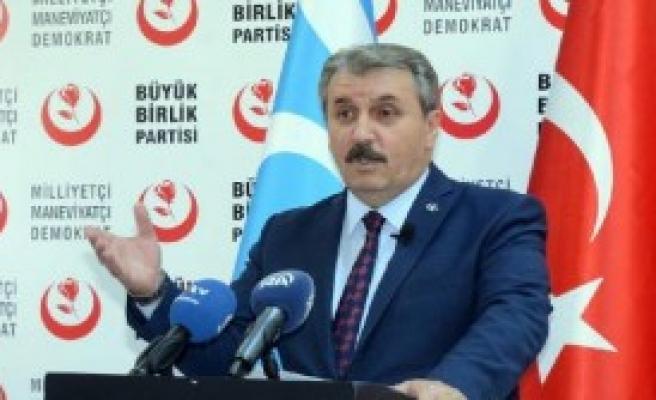 Bbp Genel Başkanı Destici'den Telafer Ve Tazehurmatu Açıklaması