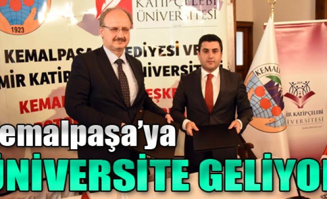 Kemalpaşa'ya Üniversite Geliyor