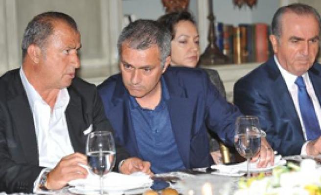 Mourinho ve Terim Birarada
