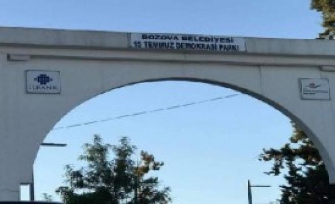 'Berkin Elvan Parkı', '15 Temmuz Demokrasi Parkı' Oldu