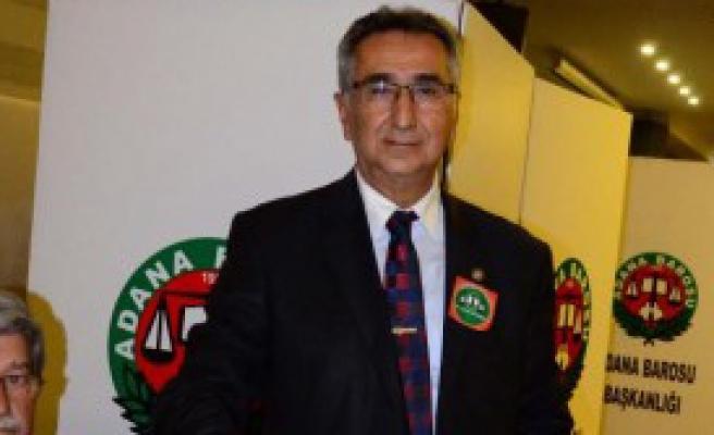 Adana Barosu'nun Yeni Başkanı Veli Küçük