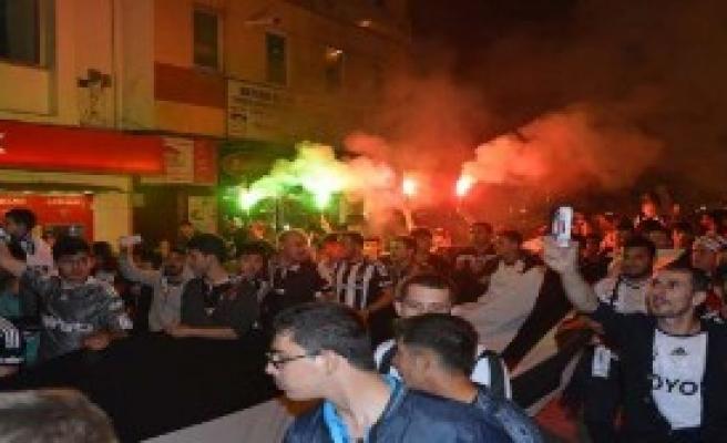 Bilecik'te Beşiktaş Coşkusu