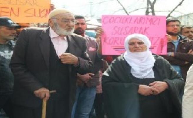 Bingöl'de Cinsel İstismar Olayları Protesto Edildi
