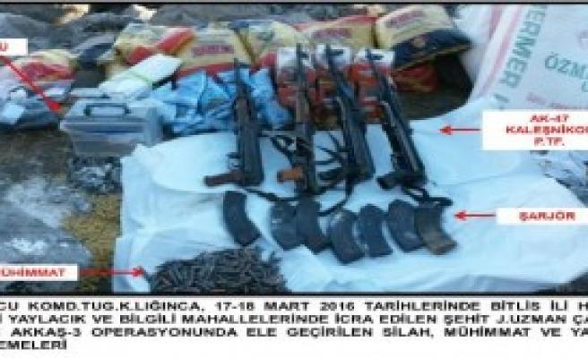 Bitlis'te Pkk Operasyonu