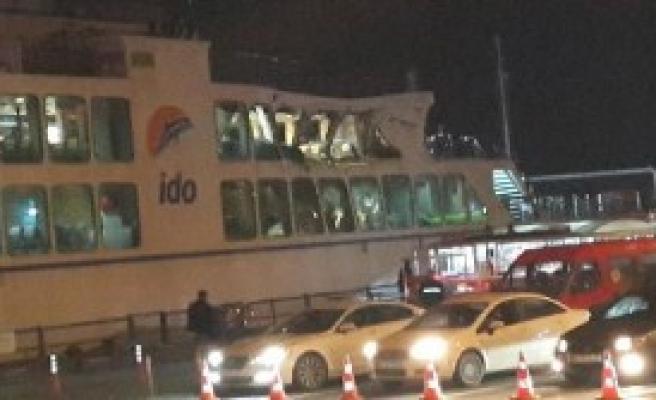 Boğaz'da Tehlike Ucuz Atlatıldı