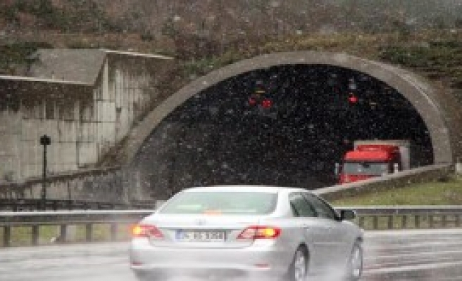 Bolu Dağı'na İlk Kar Düştü