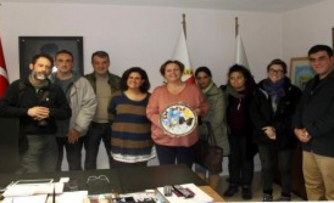 Brezilyalı Gazeteciler İzmir'de