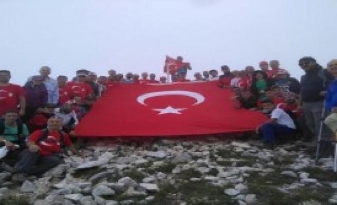 Bursa'da 15 Temmuz Şehitleri Törenle Anıldı