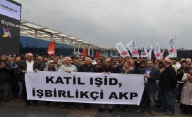 Bursa'da IŞİD Protestosu