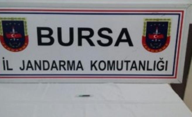 Bursa'da Jandama 'Osmiyum' Ele Geçirildi
