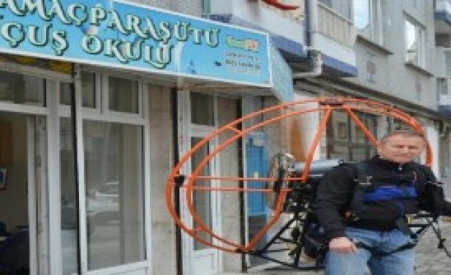 Bursa'da Paramotor Üretimi Başladı