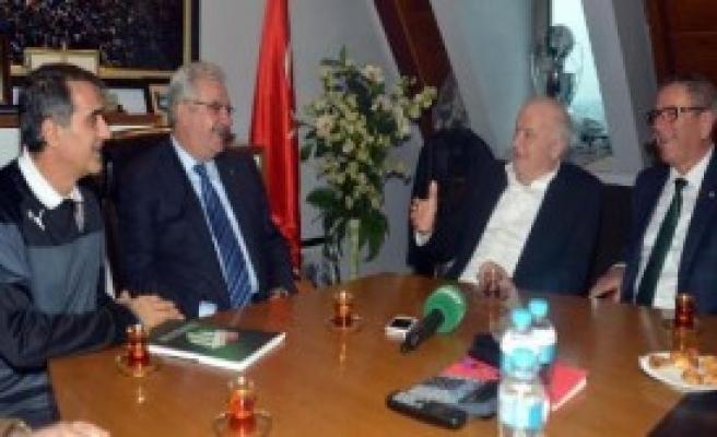 Bursaspor'a Lig Tv'den Ziyaret