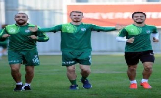 Bursaspor'da, Antalyaspor Maçı Hazırlıkları Sürüyor
