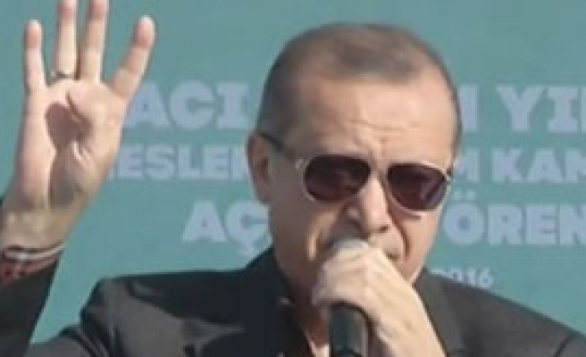 Erdoğan'dan Bursa'da Önemli Açıklamalar